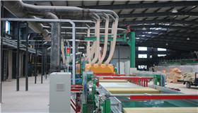 岩棉板生产线